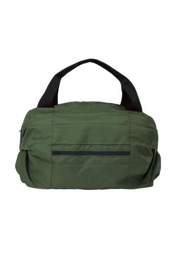Shupatto green Shupatto Foldable Travel Duffel Bag - Olive DBBA7AC8928C6EGS_1