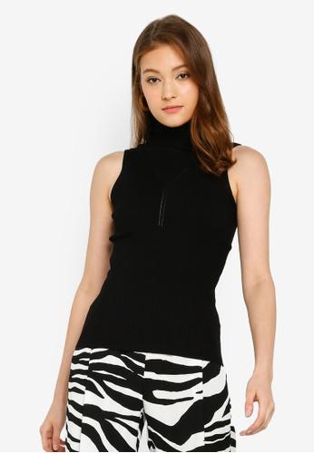38361221e45 Buy River Island Bowie Roll Neck Vest Online on ZALORA Singapore