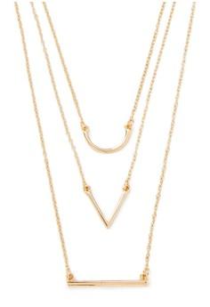 Geo Layered Necklace