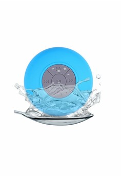 Mini Bluetooth Portable Waterproof Speaker (Blue)