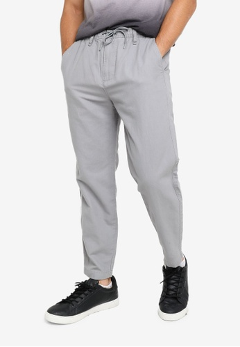 Hollister grey Jogger Pullover C0576AA36FCA69GS_1