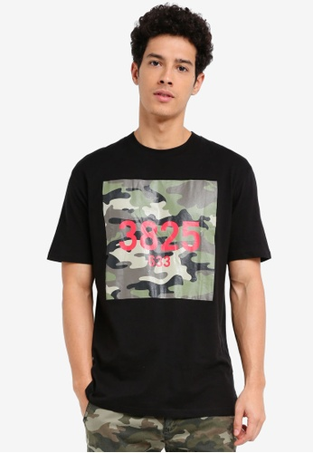 Factorie black OG Amped Tee B3FA8AAF022A0BGS_1