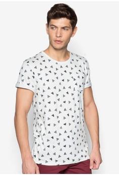 Printed Triangle T-Shirt