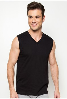 V-Neck Muscle Shirt