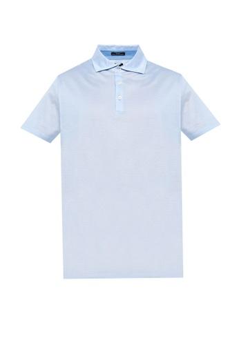 BOSS blue T-Pryde 33 Polo Shirt 13937AA7ADCB0FGS_1