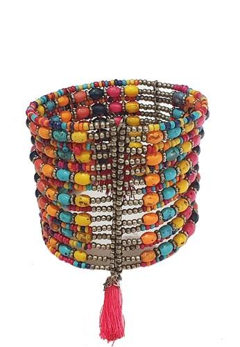 San Marco multi Multicoloured Tassel Bracelet 1CF65ACA146958GS_1