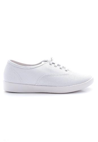 Elisa Litz white Louey Sneakers (White) EL365SH0GMATSG_1