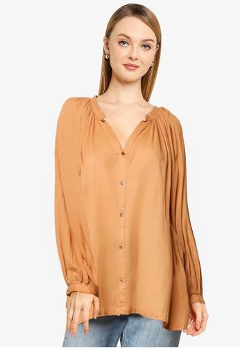 niko and ... brown Printed Shirt E3680AA0152330GS_1