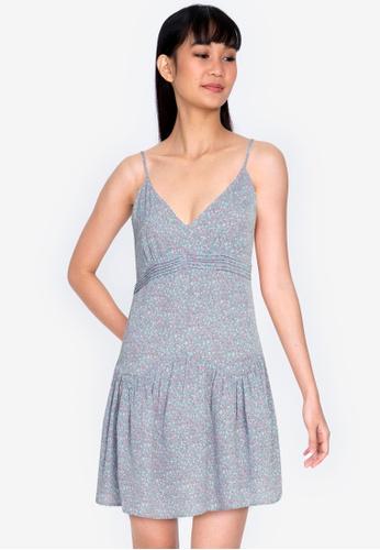 ZALORA BASICS multi V-Neck Cami Mini Dress AEFF3AAD911CFDGS_1