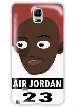 Air Jordan Matte Hard Case for Samsung Galaxy N4