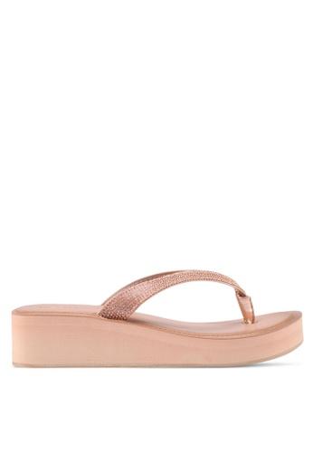 ALDO silver Yberani Beach Sandals 3B233SH49CDE35GS_1