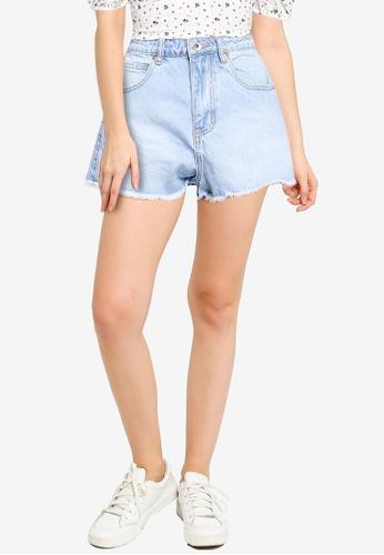 Supre blue Byron Denim Shorts F01CFAA6A22614GS_1