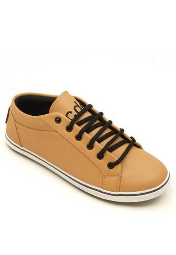Coup d' etat brown Low '92 Men Sneaker Tan with White Sole CO929SH45TBYID_1