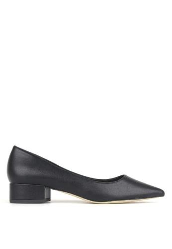 Betts black Impulse Pointed Toe Block Heel Pumps 1EF4CSHE6E5F54GS_1