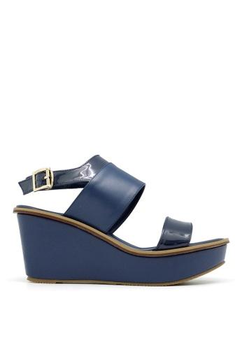Carlo Rino blue Carlo Rino 333000-239-13 Sandal Wedges Platform  (Blue) EFC07SHBFDA922GS_1