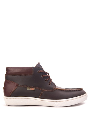 Itti brown Moc Toe Boots IT425SH57NHEPH_1