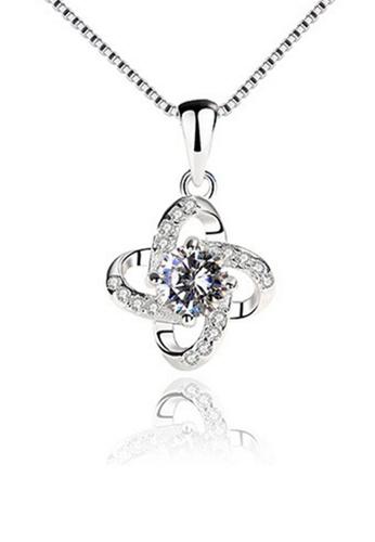 LYCKA silver LPP88045 S925 Silver Necklace 66572AC351ABA4GS_1