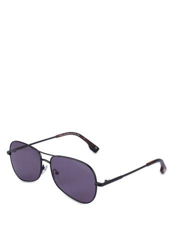 Le Specs black Krill 2001467 Sunglasses 569F8GLFB15F4FGS_1