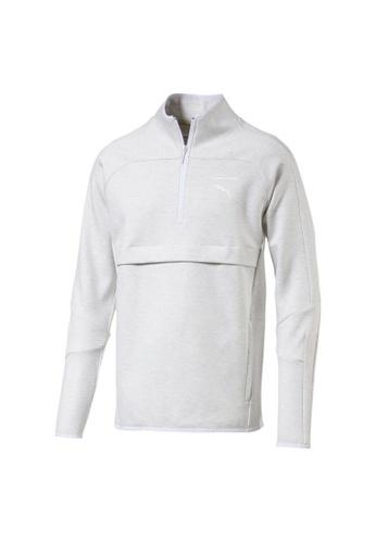 0729d623ad PUMA Pace Primary Savannah Men's Half Zip Sweatshirt 575049