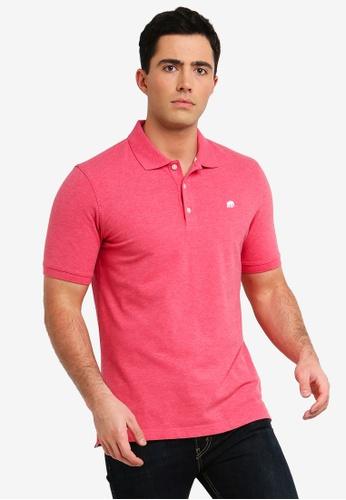 Banana Republic 粉紅色 刺繡POLO衫 1AF6FAA86BD77FGS_1