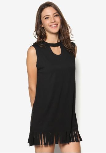 Fringesprit 衣服e Shift Dress, 服飾, 服飾