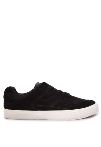 Sonnix black Tribute - Vulc Men's Lace Up Sneaker Shoes SO490SH17WCWPH_1