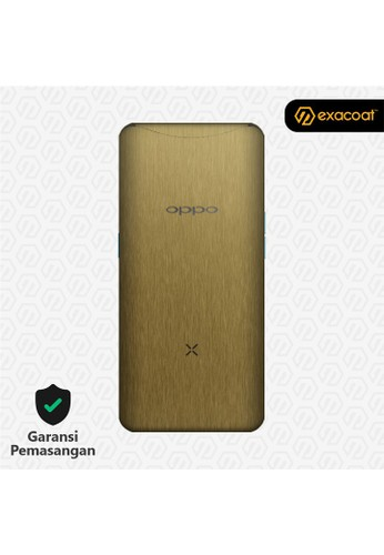Exacoat Oppo Find X 3M Skins Titanium Gold - Cut Only 132DFESCDABA82GS_1
