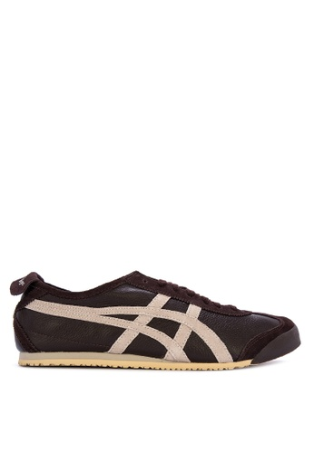 Onitsuka Tiger brown and multi Mexico 66 Vin Sneakers 5AA4DSHBCA8294GS_1
