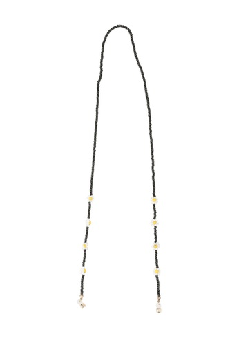 Rubi black Beaded Sunnies Chain 395EEAC2E45220GS_1