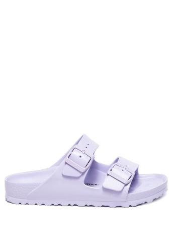 Birkenstock purple Arizona EVA Sandals 8F589SHC86D505GS_1