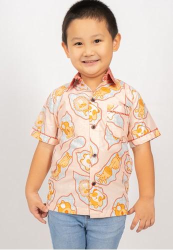 Rianty Kids orange Hem Anak Berilo Collar 810FCKA6A1021DGS_1