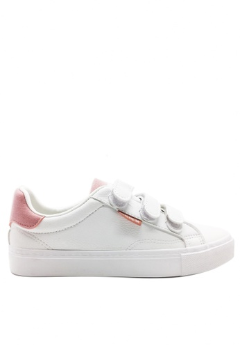 Twenty Eight Shoes pink Triple Straps Sneakers 8033 1A979SH72B9920GS_1