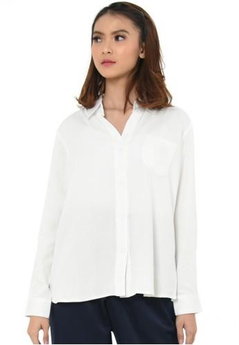 Elizabeth Clothing white Elizabeth Katharina Blouse 3C602AA59A1629GS_1