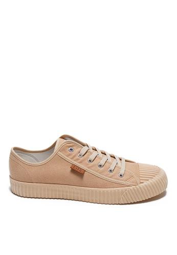 Life8 brown Casual Retro Korean Style Shoes-09900-Khaki CF64ASH94613ACGS_1