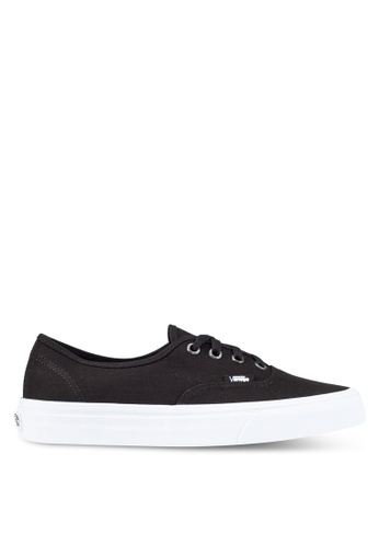 VANS black Authentic Gift Wrap Sneakers VA142SH0SBR8MY_1