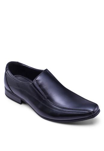 沖孔拼esprit tw接商務皮鞋, 鞋, 皮鞋