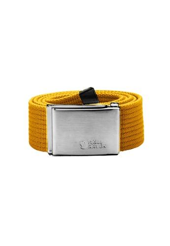 Fjallraven yellow Fjallraven Canvas Belt Ochre CA090AC227D0E6GS_1