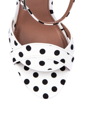 fa9227fca4b5 Shop TOPSHOP Sally Polkadot Sandals Online on ZALORA Philippines