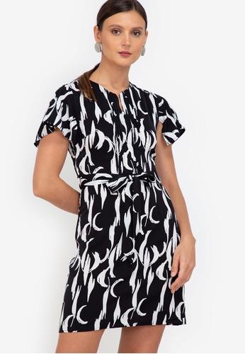 ZALORA WORK multi Handkerchief Sleeves Mini Dress 6F63BAA81CDE03GS_1