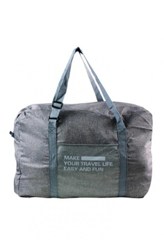 19d4b4c094d9 Travel Manila grey Weekeight Denim Foldable Duffle Bag TR905AC0INZHPH 1