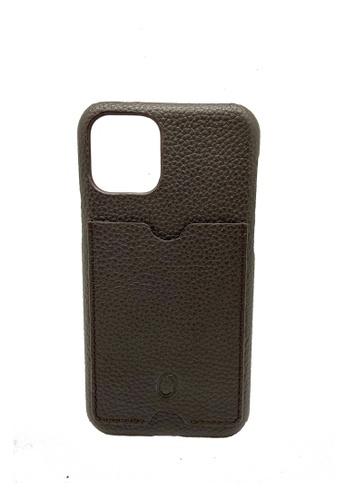 Oxhide 褐色 iPhone 11pro 保护套-牛皮 D06E8AC9008F45GS_1
