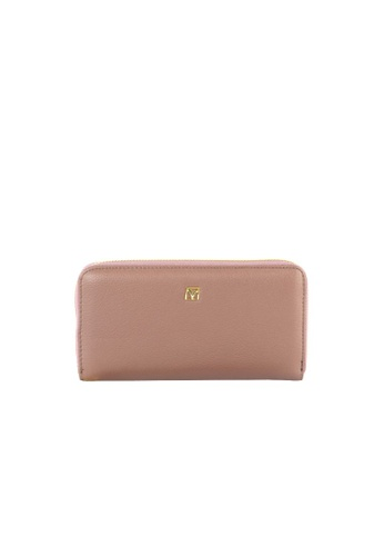 Valentino Rudy purple Valentino Rudy Italy Ladies Zip Around Long Wallet with Wrist strap 040735-502 E2126ACC111CC9GS_1