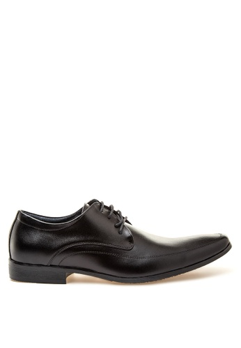 Brogue & Derby black Denver Formal Shoes BR611SH48QKLPH_1