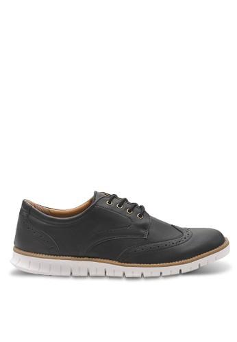 瘋馬皮雕花型男混搭風運動鞋、 鞋、 運動鞋Luxplay瘋馬皮雕花型男混搭風運動鞋最新折價