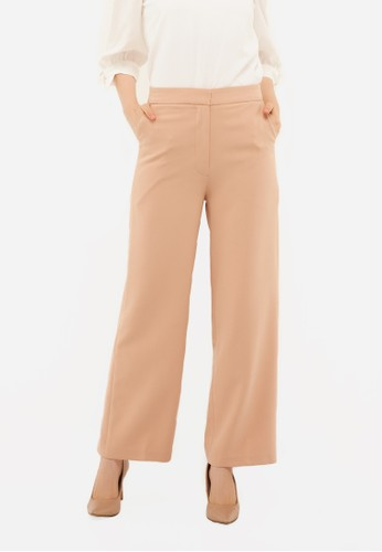 Neumor brown Cullots Long Pants A4C9AAA689BE71GS_1