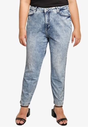 Vero Moda blue Vibe Mom Jeans - K Curve 8546CAA23287A4GS_1