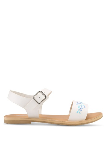Bata white Bata Women Sandals 59893SH26D387EGS_1