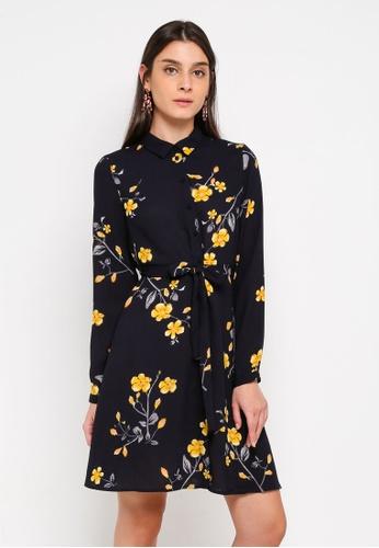 Vero Moda blue Callie Shirt Dress 3267DAAA58AC39GS_1
