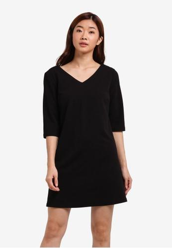 ZALORA black Back Strap Detail Dress C1D74AAD2D9874GS_1