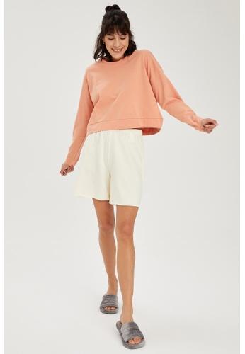 DeFacto beige Woman Homewear Bottoms 2EB4FAA3708833GS_1
